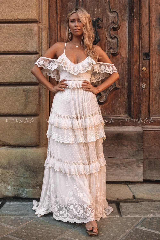 dluga sukienka na wesele