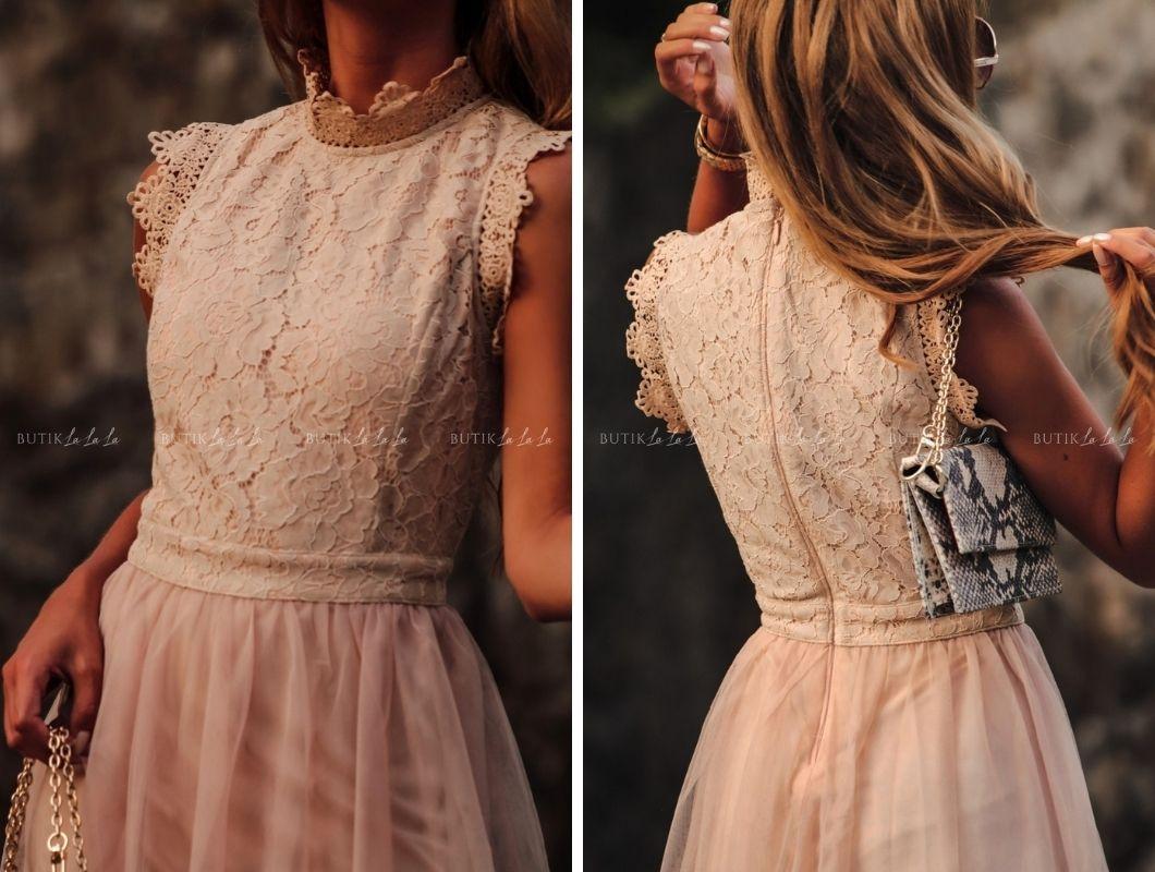 sukienka na wesele koronkowa
